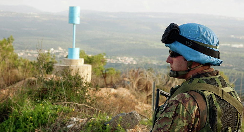 Żołnierz sił pokojowych ONZ