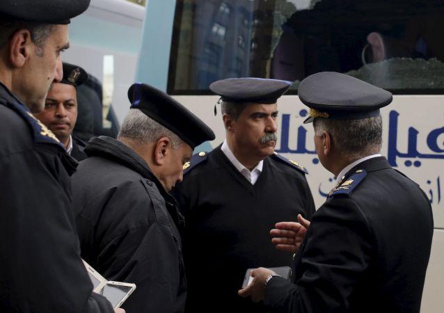 Egipscy policjanci