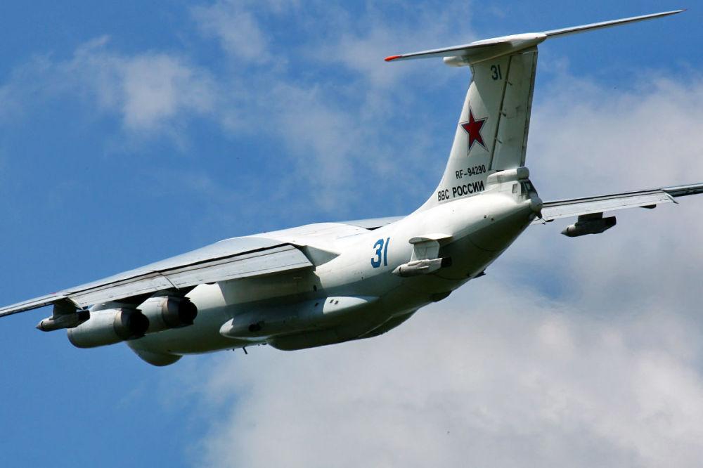 Rosyjski powietrzny tankowiec Ił-78