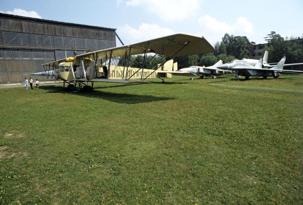 Сiężki, wielosilnikowy samolot bombowy Ilja Muromiec
