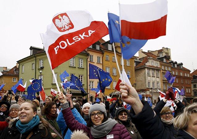 Demonstracja w Warszawie