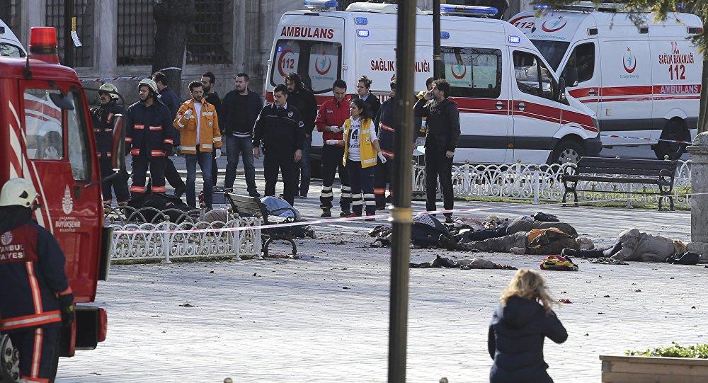 Potężny wybuch w centrum Stambułu, 12 stycznia 2016
