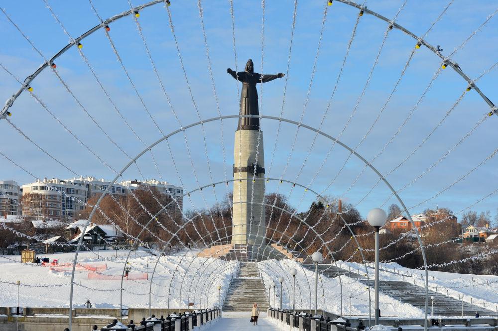 Pomnik Matki Patronki w Czeboksarach