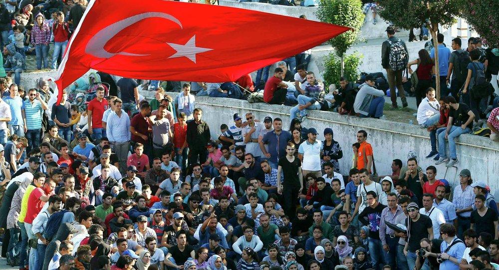 Migranci w Turcji