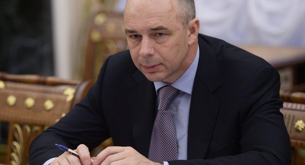 Minister Finansów FR Anton Siluanow