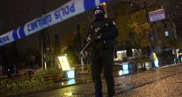 Turecki policjant