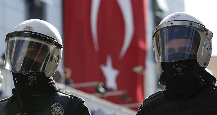 Policja w Stambule