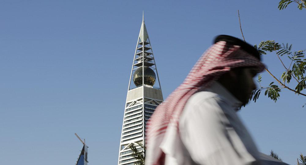 Saudyjczyk w Rijadzie