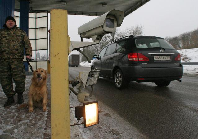 Punkt kontroli granicznej w Obwodzie Kaliningradzkim