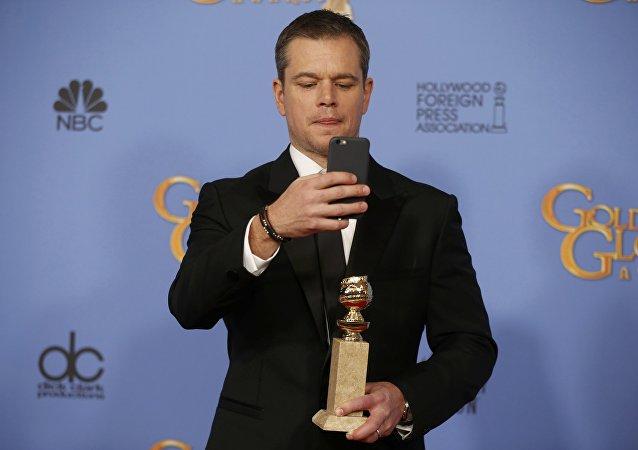 Matt Damon otrzymał Złoty Glob jako najlepszy aktor w filmie komediowym