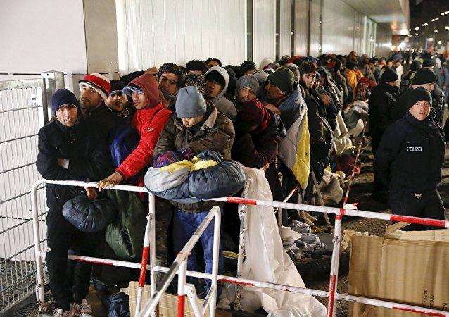 Migranci w Berlinie