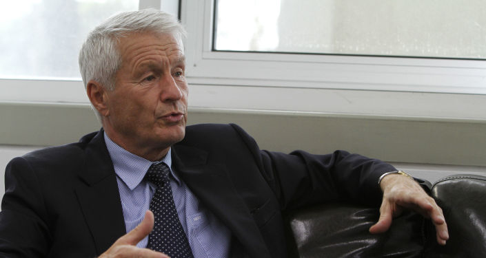 Sekretarz generalny Rady Europy Thorbjørn Jagland