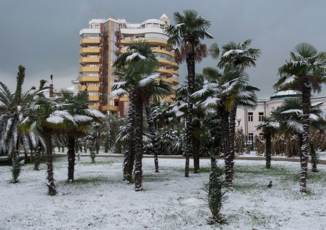 Zima w Soczi