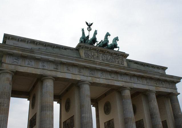 Brama Brandenburska w Berlinie