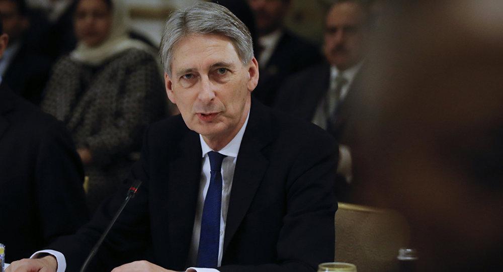 Szef brytyjskiego MSZ Philip Hammond