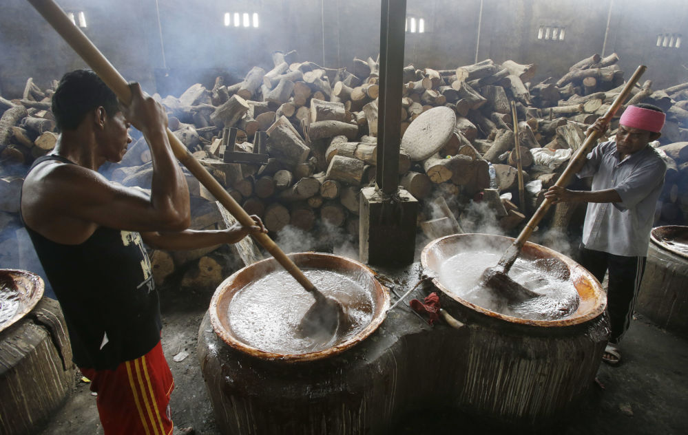 Przygotowanie do chińskiego nowego roku w Indonezji