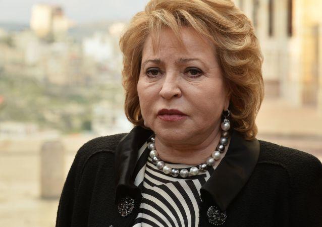 Przewodnicząca Rady Federacji Walentyna Matwijenko