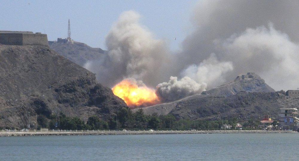 Eksplozja w porcie Aden w Jemenie