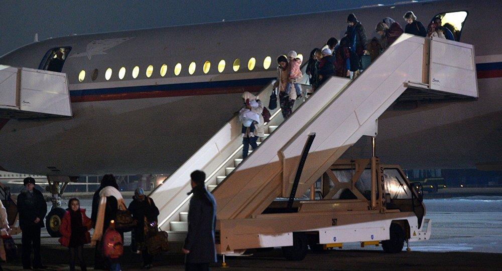 Rosyjskie samoloty z obywatelami Rosji, Polski, Ukrainy i innych krajów na pokładzie wylądowały na lotnisku Czkałowski