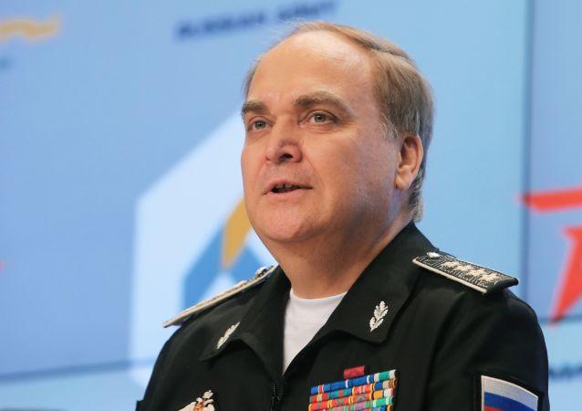 Wiceminister obrony Rosji Anatolij Antonow