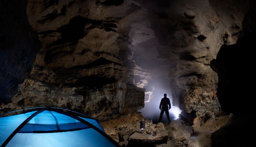 Jaskinia Kinderlinskaja w Baszkortostanie