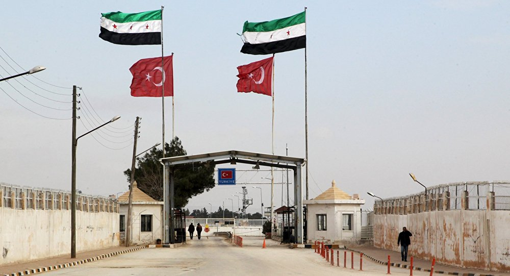 Granica syryjsko-turecka, prowincja Aleppo