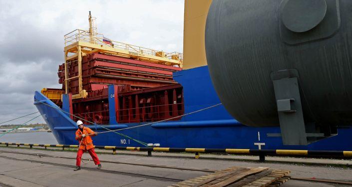 Port w Kaliningradzie