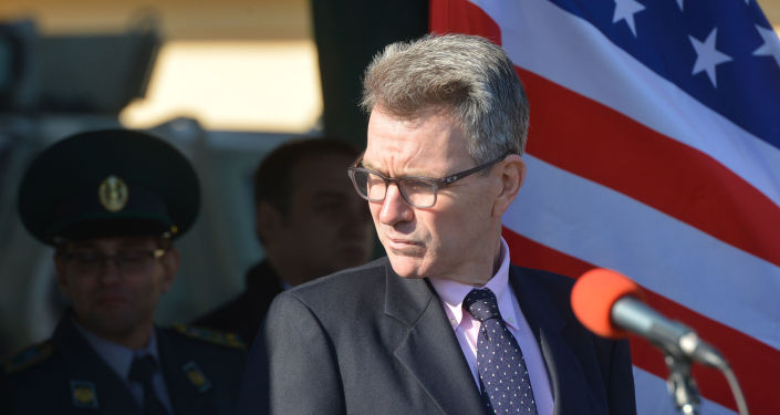 Ambasador USA na Ukrainie Geoffrey R. Pyatt