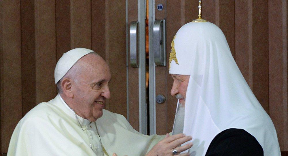 Historyczne spotkanie patriarchy Cyryla i papieża Franciszka na Kubie