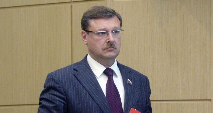 Szef komisji ds. polityki zagranicznej w Radzie Federacji Konstantin Kosaczew