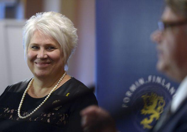 Minister spraw zagranicznych Estonii Marina Kaljurand