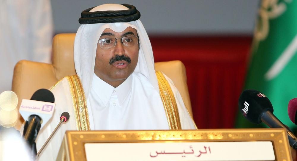 Minister energetyki Kataru Mohammad bin Saleh al-Sada
