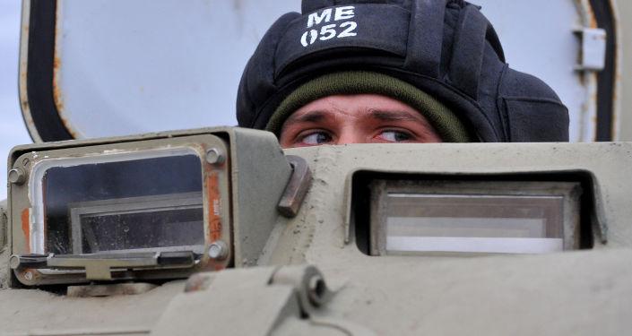 Ćwiczenia wojskowe rosyjskiej armii na poligonie w Kraju Stawropolskim
