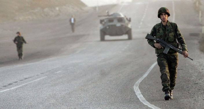 Tureccy żołnierze w prowincji Şırnak