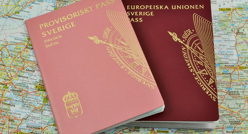 Szwedzki paszport