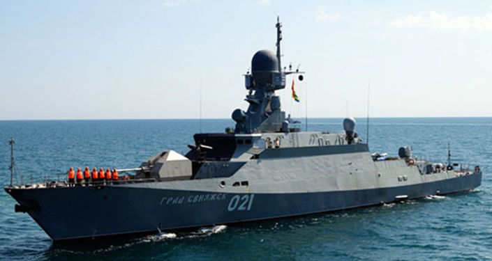 """Małe okręty rakietowe projektu 21631 (kod """"Buyan-M)"""