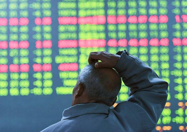 Załamanie giełdy w Chinach