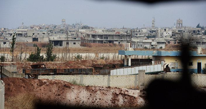 Syryjskie miasto Homs