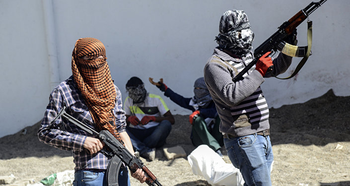 Członkowie kurdyjskiej organizacji Partia Pracujących Kurdystanu