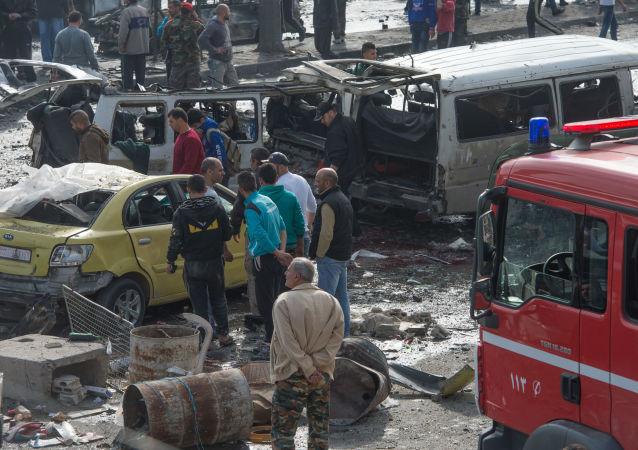 Atak terrorystyczny w Homs