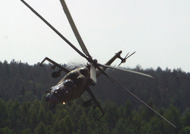 The Mi-24 assault helicopter, which spawned a slew of nicknames, from 'Crocodile' (Krokodil), to 'Drinking Glass' (Stakan), to 'Flying Tank' (Letayushchiy Tank).