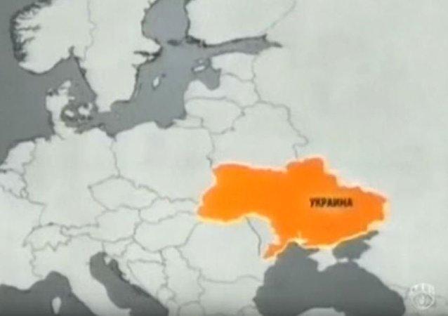 Ukraińska telewizja pokazała mapę kraju bez Krymu