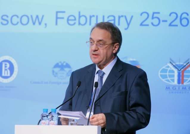Wiceminister spraw zagranicznych Rosji Michaił Rosyjski Bogdanow,