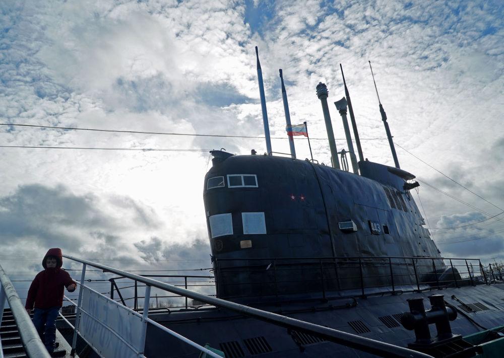 Okręt podwodny B-413 w Muzeum Wszechoceanu w Kaliningradzie