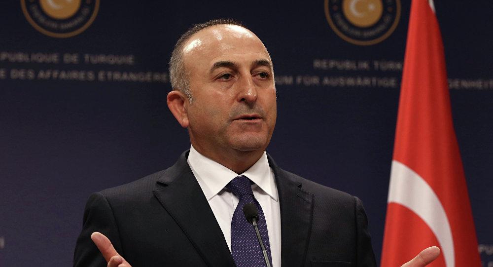 Szef tureckiej dyplomacji Mevlut Çavusoglu