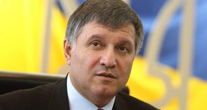 Szef Ministerstwa Spraw Wewnętrznych Ukrainy Arsen Awakow