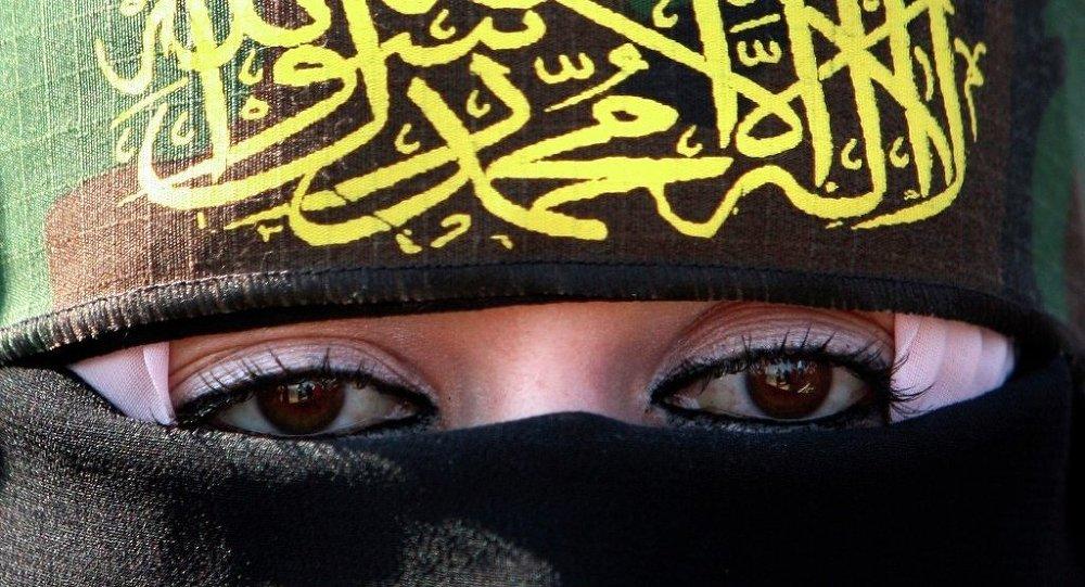Kobieta popierająca dżihad