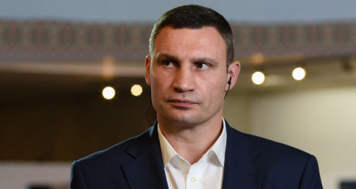 Burmistrz Kijowa Witalij Kliczko