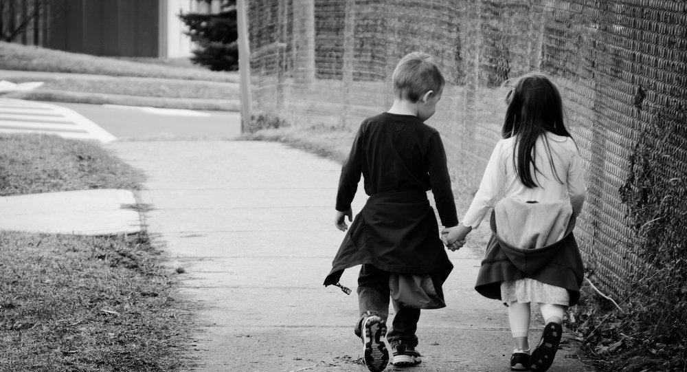 Dzieci na spacerze