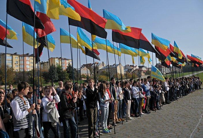 Obchody rocznicyutworzenia UPA, Ukraina